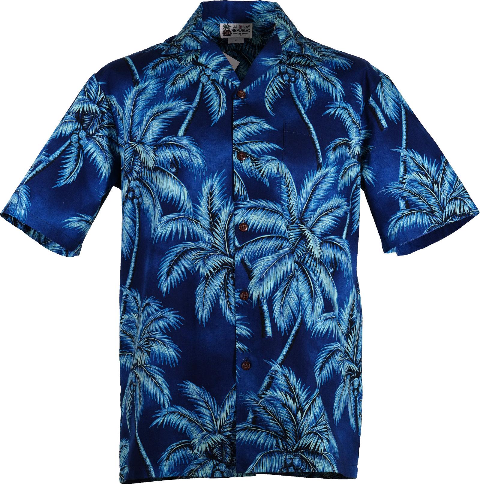 Original Hawaiihemd -Glorious Blue-
