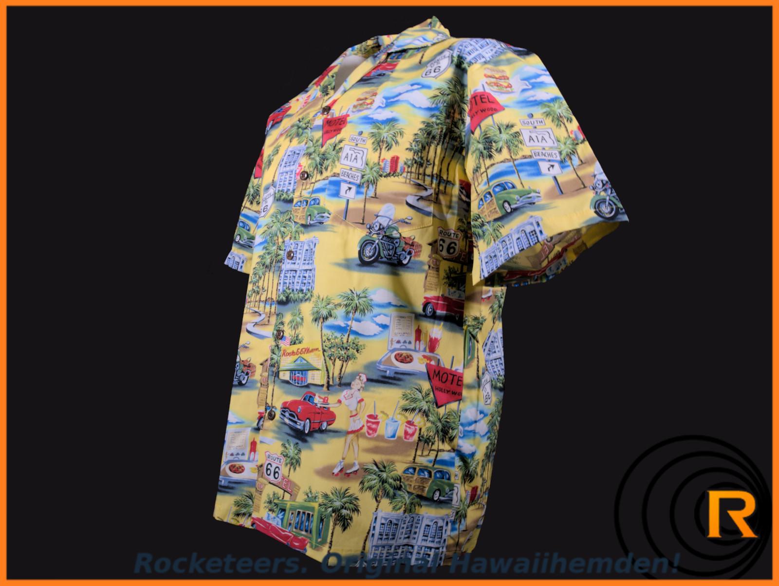 Original Hawaiihemd -Route 66-