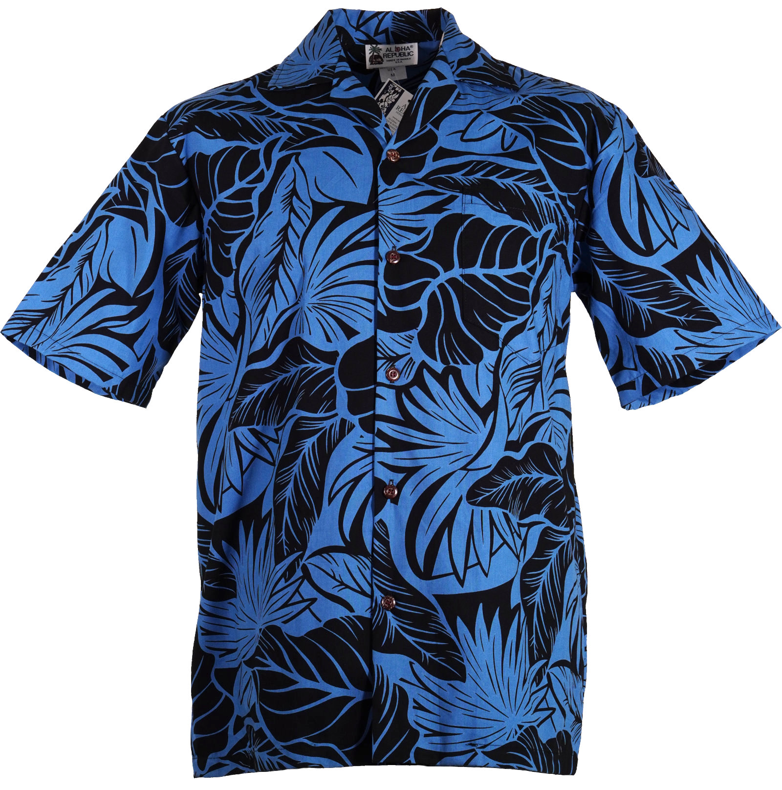 Original Hawaiihemd -Shadow of the Monstera-